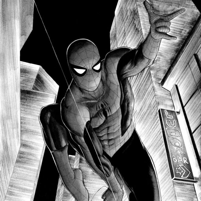 spidermanB&W_final